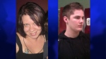 Tanya Bogdanovich, 31, and Michael MacGregor, 19, are seen in these undated photos courtesy Facebook.