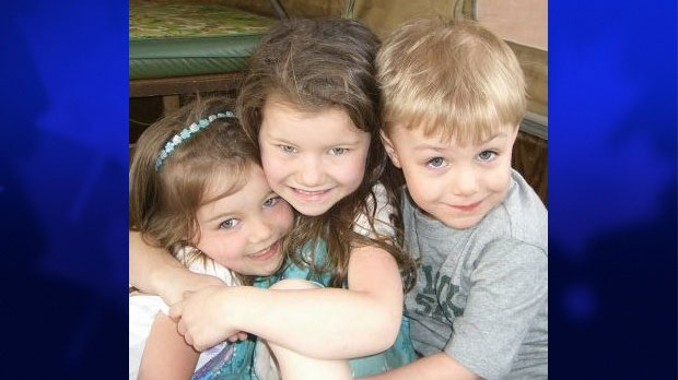 Gabrielle Greenwood, Hannah Greenwood and Aidan Hicks are shown in this Facebook photo.