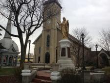 Ste. Anne's church Tecumseh