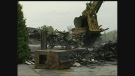 CTV Windsor: Aftermath of huge Windsor fire