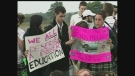 CTV Windsor: Students protest special ed cuts