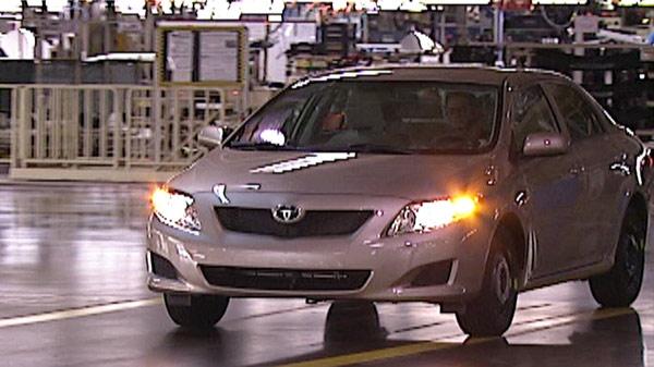 Toyota Lexus Plant In Cambridge Ont Gets 34 Million