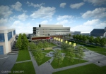An artist rendering of Windsor's new city hall design as seen on the City of Windsor website.