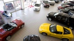 A showroom at a GM dealership in North Vancouver is pictured on May 20, 2009. (Jonathan Hayward / THE CANADIAN PRESS)