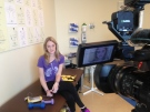 Hollie Leamont shares her story as she recovers from a double-lung transplant in Toronto, Ont. (Sacha Long / CTV Windsor)