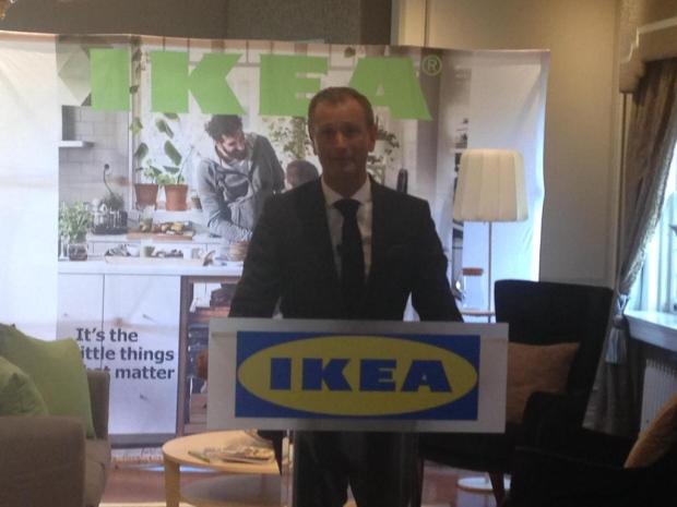 Ikea Canada president Stefan Sjostrand