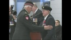 Veterans honoured by France