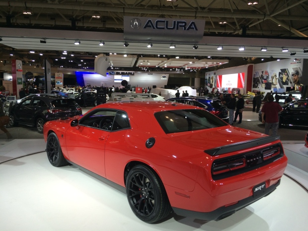 Highlights from the Canadian International Auto Show in Toronto, Ont., on Thursday, Feb. 11, 2015. (Michelle Maluske / CTV Windsor)