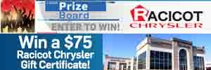 Racicot Chrysler Prize Board