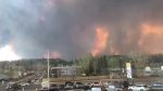 Extended: Timelapse of Fort McMurray wildfire