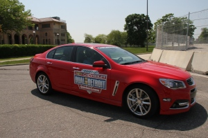 A preview of the Detroit Belle Isle Grand Prix track on Tuesday, May 24, 2016. (Melanie Borrelli / CTV Windsor)