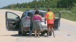 Manitoba wildfire forces people from homes