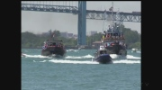 The 40th Annual International Tug Boat Races on the Detroit River Saturday, June 25th, 2016