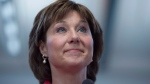 B.C. Premier Christy Clark pauses for a moment as she attends an event at Taylor Park Elementary school in Burnaby, B.C., Friday, June, 10, 2016. (Jonathan Hayward / THE CANADIAN PRESS)