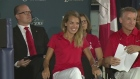 Sendoff for Olympic athletes at St. Denis Centre
