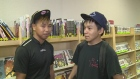 Donathon Tunraq and Willie Iqaluq are staying in Windsor as part of the Northern Youth Abroad program. (Alana Hadadean / CTV Windsor)