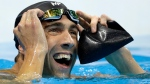 United States' Michael Phelps reacts after the men's 100-meter butterfly final during the swimming competitions at the 2016 Summer Olympics, Friday, Aug. 12, 2016, in Rio de Janeiro, Brazil. (Michael Sohn/AP Photo)