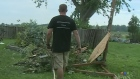 Two tornados left some areas devastated, but also
