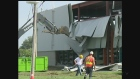 Businesses and families facing costs to clean up the damage left by the tornado on August 24th, 2016.