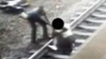 Transit officer saves man just in time