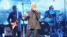Tom Jones performs at Caesars Windsor in Windsor, Ont., on Saturday, Sept. 17, 2016. (Melanie Borrelli / CTV Windsor)