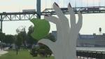 Windsor waterfront sculpture