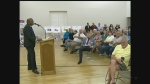 Ward Two residents take part it latest ward meeting on Tuesday, October 18, 2016. (Angelo Aversa / CTV Windsor)