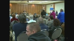 Ward Four residents attend a public meeting on Thursday, October 20, 2016. (Chris Campbell / CTV Windsor)