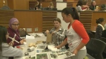 Girls take part in day at University of Windsor aimed at increasing interest in the field of engineering.
