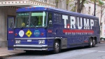 Campaign bus used to mock Trump