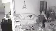 Bold burglars rob home while children sleep nearby