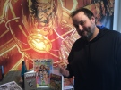 Promoter Michael Michalski is getting ready for the RetroRama Classic Collectibles Con in Windsor on Thursday, Oct.27, 2016. (Melanie Borrelli / CTV Windsor)