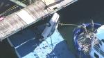 Toronto Police remove body, car from Lake Ontario
