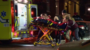 An ambulance is shown in Quebec in this file photo.