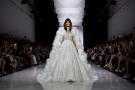 A model wears a creation for Ralph & Russo's Spring-Summer 2017 Haute Couture collection presented in Paris, Monday, Jan. 23, 2017. (AP Photo/Zacharie Scheurer)